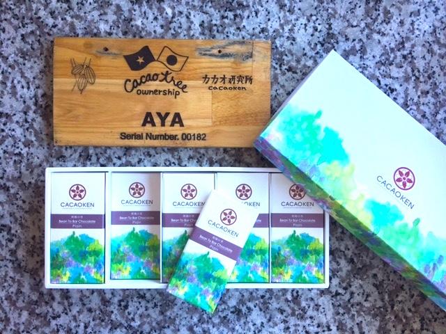 ベトナムにカカオの木を買って届いた「チョコレートヌーヴォー」を食べてみた