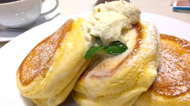 【吉祥寺パンケーキ】ふわとろスフレ系パンケーキの王道「幸せのパンケーキ」
