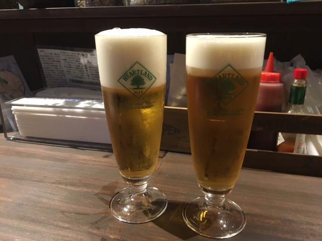 ハートランドの生ビールが350円で楽しめる「横浜・ハニーズポートカフェ」