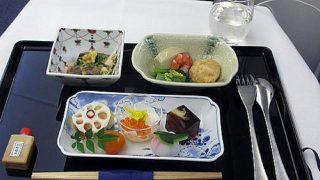 機内食レポート。ANA(全日空)「成田~サンノゼ」ビジネスクラス