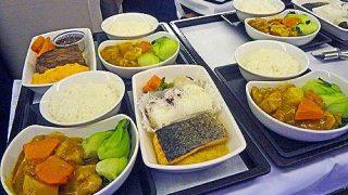 ビジネスクラス機内食レポ。キャセイパシフィック航空「羽田~香港」