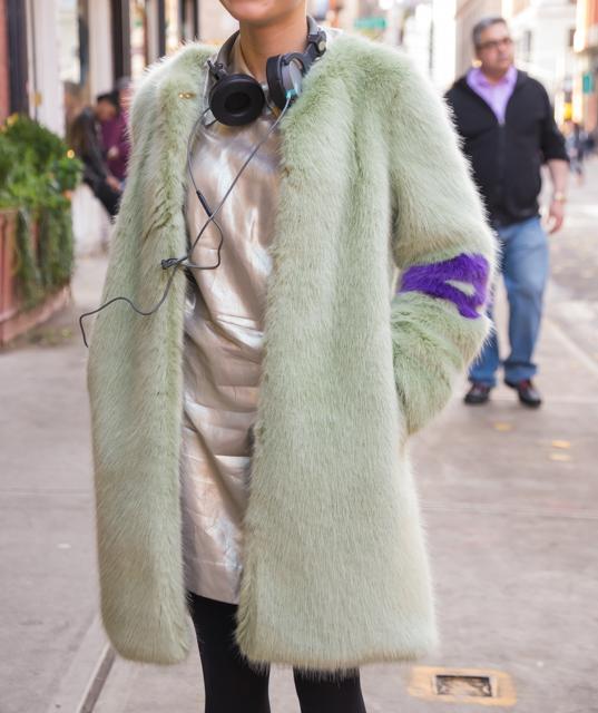 絶対欲しくなる!ニューヨーカーに人気のファーコート
