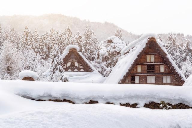 【北陸飛騨】雪景色の美しいミシュラン3つ星街道の旅!
