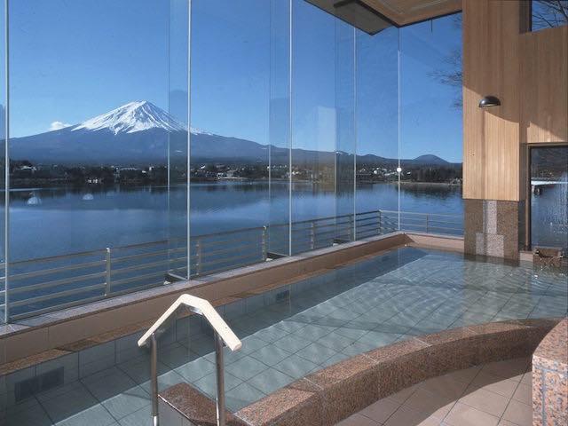 【日本が誇る世界遺産】富士山を見ながら極楽露天風呂