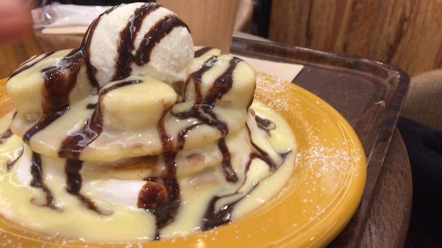 【吉祥寺パンケーキ】甘い誘惑!ハワイアンパンケーキ「アロハテーブル」