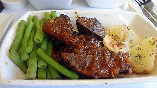機内食レポート。キャセイパシフィック航空「台北~成田」ビジネスクラス