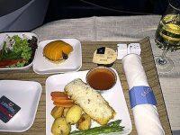 機内食レポート。デルタ航空「マニラ~成田」ビジネスクラス
