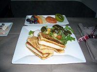 機内食レポート。JAL(日本航空)「シドニー~成田」ファーストクラス
