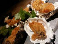 牡蠣づくしの創作料理。種類豊富な日本酒が魅力の「品川牡蠣入レ時」