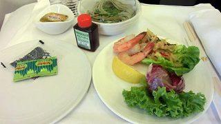 機内食レポート。マレーシア航空「クアラルンプール~成田」ビジネスクラス