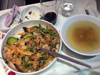 機内食レポート。大韓航空「タシケント~ソウル」ビジネスクラス