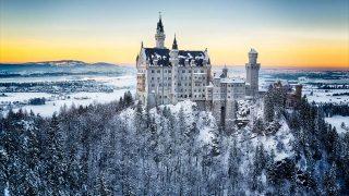 シンデレラ城のモデルともなったドイツのノイシュヴァンシュタイン城