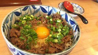 お出汁がきいた甘めのタレがもう絶品!宮崎「大盛りうどん」の肉めし