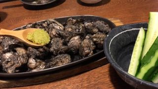 炭火で豪快に焼いたコリコリで美味しい宮崎地鶏が食べられる「ぐんけい隠蔵」