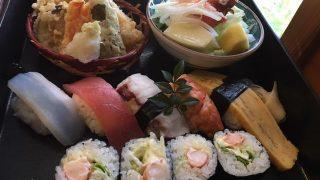 落ち着く和室でのんびり1100円のお寿司ランチ。宮崎県「すし処勝正」