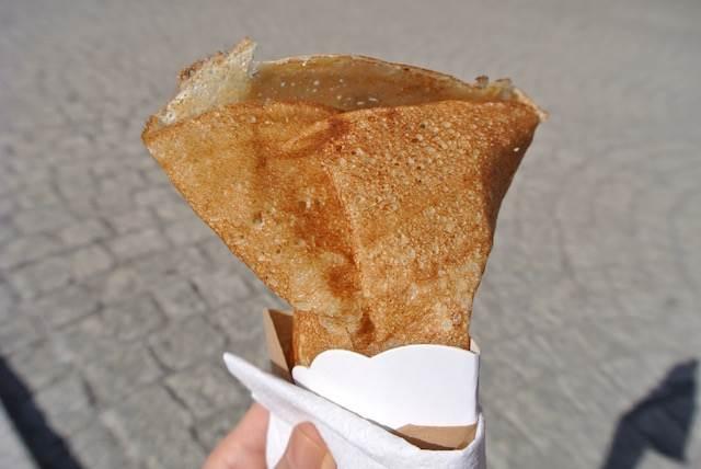 フランス旅行で必食! モチモチ食感の絶品クレープ