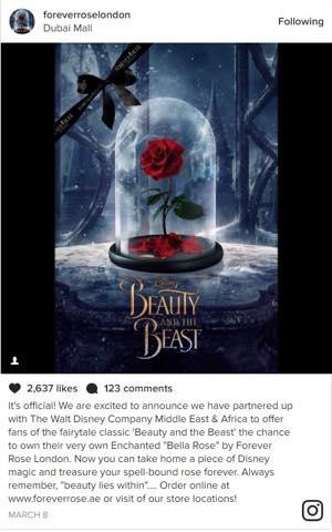 ディズニー公認!ガラスドームに優しく守られた永遠のバラ「Forever Rose London」
