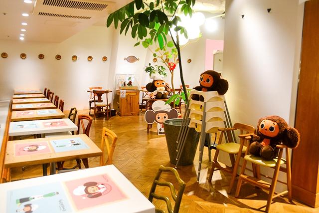 可愛すぎる!期間限定の「チェブラーシカ カフェ」レポート!