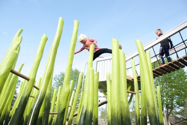 子供の想像力を育む舞台!デンマークの公園の可愛い遊具たち