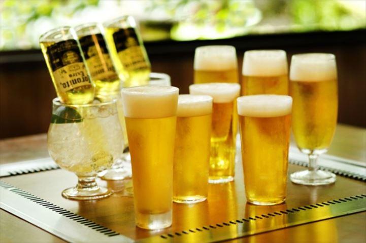 ガーデンビアホールで楽しむ「ビール」×「肉」