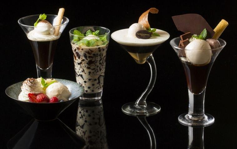 ウェスティン都ホテル京都でバリエーション豊かなコーヒーゼリーが楽しめる