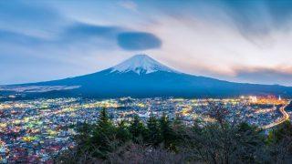 【世界遺産】青い富士山の絶景と眺望ポイント