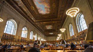 【NYパブリック・ライブラリー】2年ぶりに復活、絵のように美しい読書室