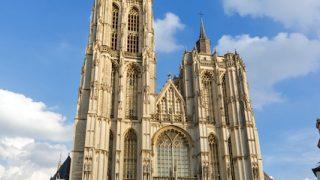 「フランダースの犬」のラストシーンの舞台になった、アントワープ聖母大聖堂
