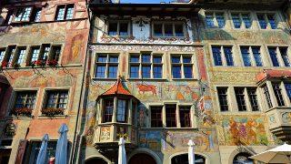 ラインの宝石、フレスコ画に彩られたスイスの美しき中世の町「シュタイン・アム・ライン」