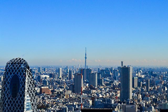無料で東京の一望できる人気スポット!「東京都庁展望室」