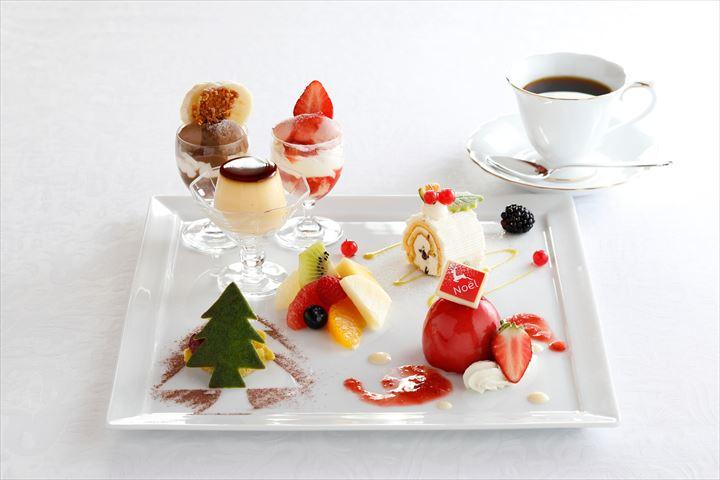 旬のフルーツを贅沢に使った、資生堂パーラーのクリスマススイーツ