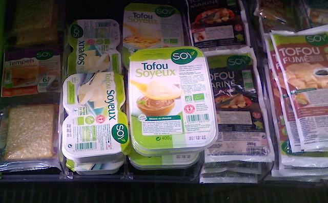 チーズじゃないの!? フランスのユニークな豆腐たち