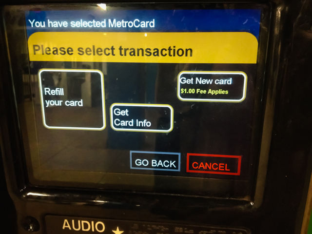 【NYCビギナーでも分かる】地下鉄乗車券(メトロカード)の買い方