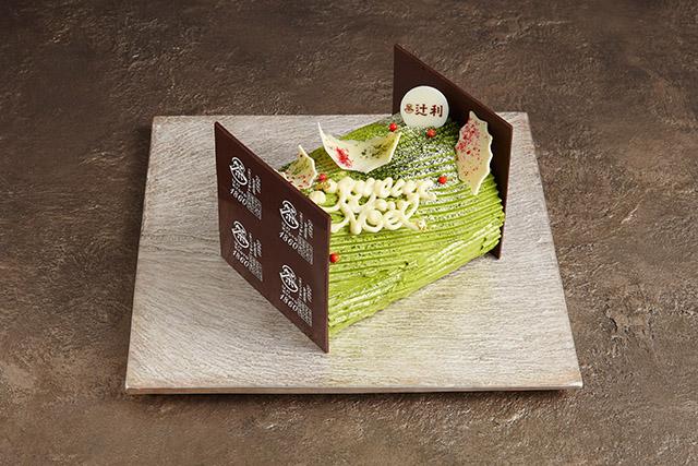 【東京・銀座】GINZA SIX限定で、宇治の老舗「辻利」の極上抹茶クリームケーキが登場!