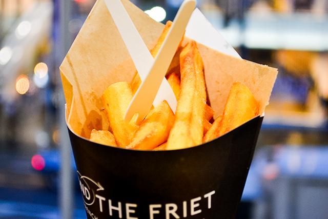 ホクホクの最高に美味しいフライドポテトが食べられる「AND THE FRIET」