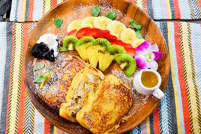 3種類の味と食感が楽しめる!日本でしか食べられないハワイから来たフレンチトースト