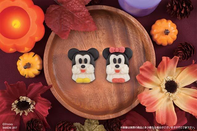 【セブンイレブン】ディズニーキャラクターがハロウィンの仮装姿で和菓子になった!