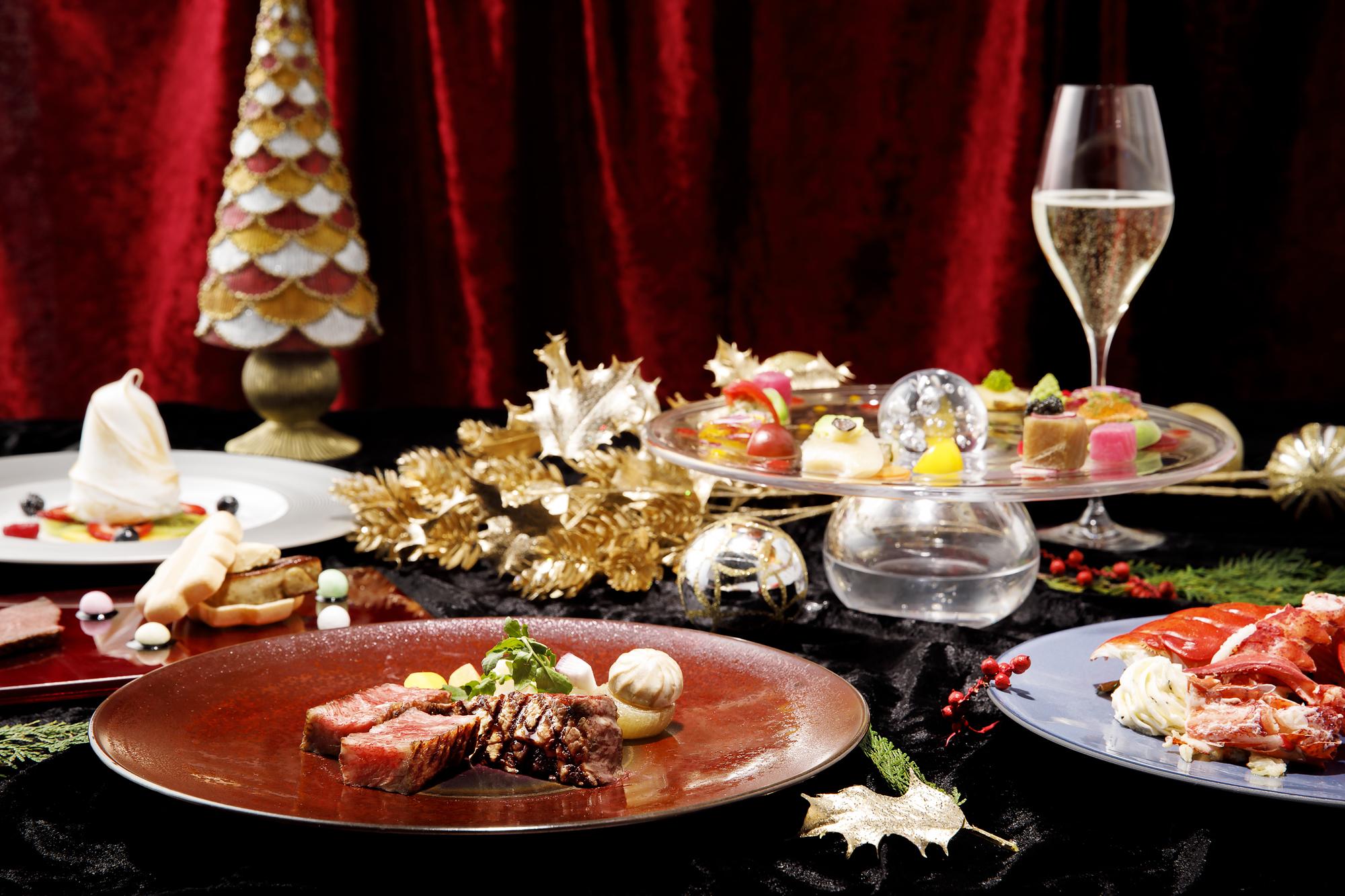 品川プリンスホテル最上階!東京の夜景を360°楽しめるクリスマスディナー