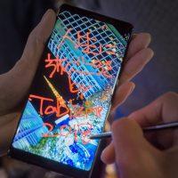ペン入力で動くメッセージを送る!Galaxy Note8はすごくて簡単。
