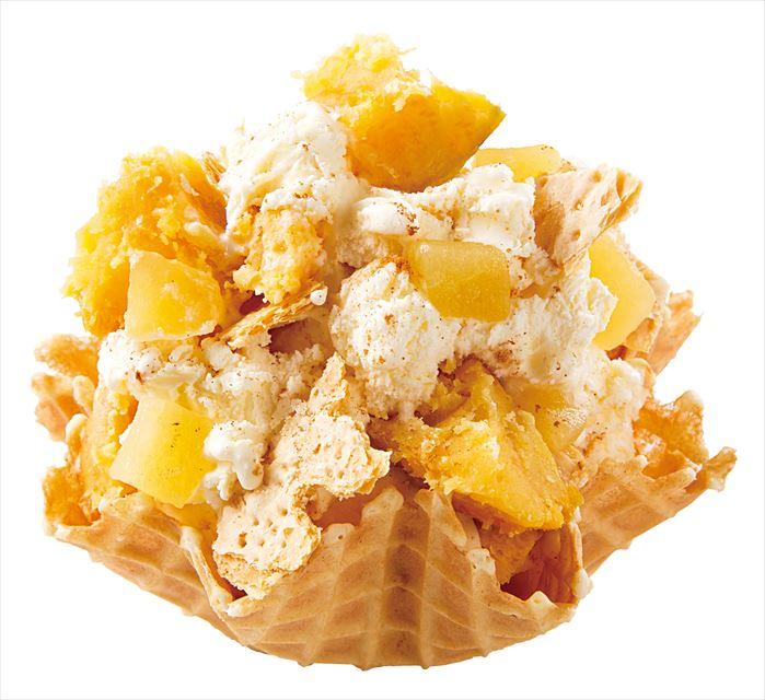 """濃厚な甘みの""""安納芋""""がプレミアムアイスクリームになって登場"""