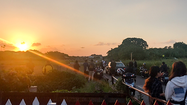 【台湾】1月にはなくなっちゃう?台北松山空港の飛行機の離発着が間近で見れる迫力のスポット