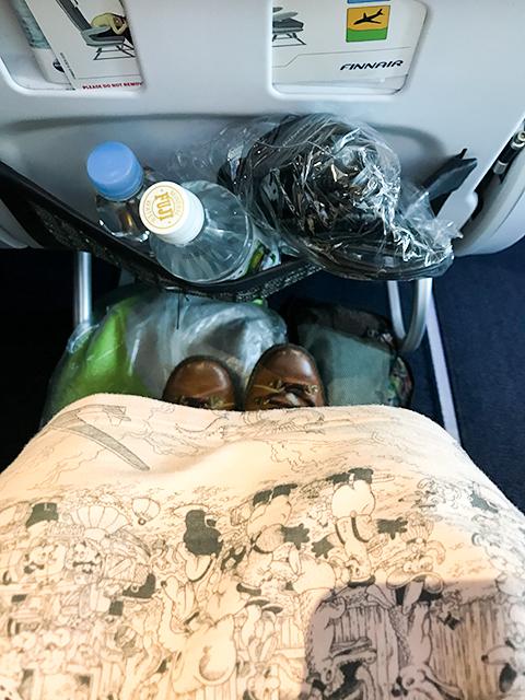 たったプラス70ユーロで快適旅!フィンエアー「エコノミーコンフォート」搭乗レポート