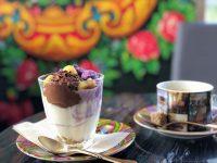 ビーントゥーバーショコラティエ「シャポン」で美しいパフェが期間限定で登場