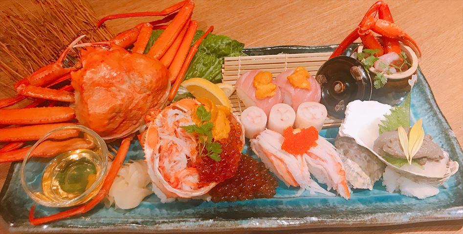 産地直送の魚介が味わえる!「かに港」で贅沢な蟹づくしフェア開催