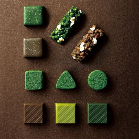 お茶×チョコレートの組み合わせが光る、祇園辻利のバレンタインスイーツ