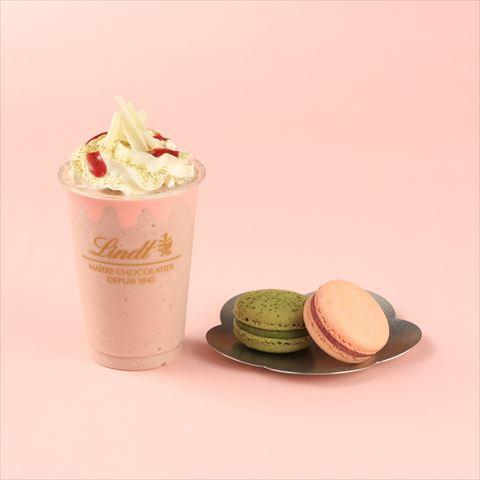 """リンツ""""桜ドリンク""""期間限定登場!~ホワイトチョコ&チェリー~"""
