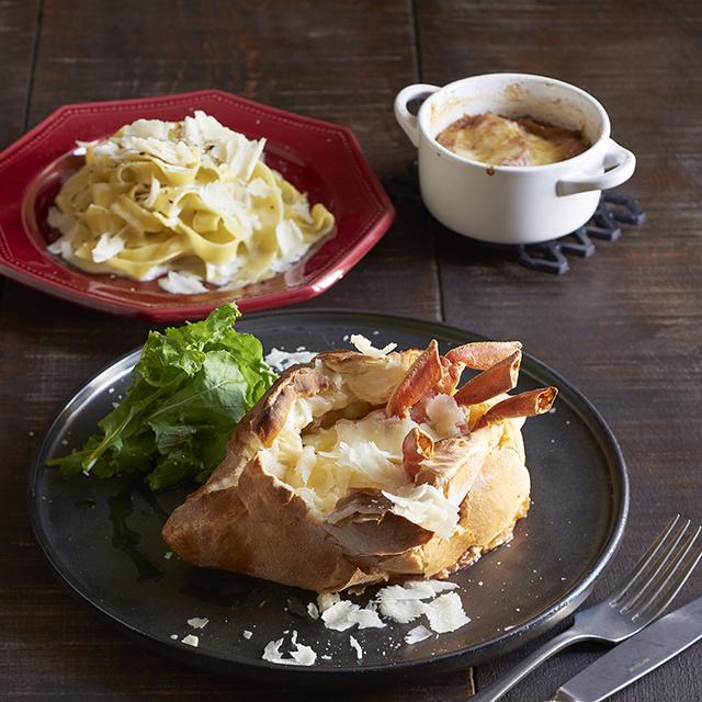 トリュフ×チーズエスプーマフォンデュなど11種のチーズが楽しめる「熱々チーズメニュー」が登場
