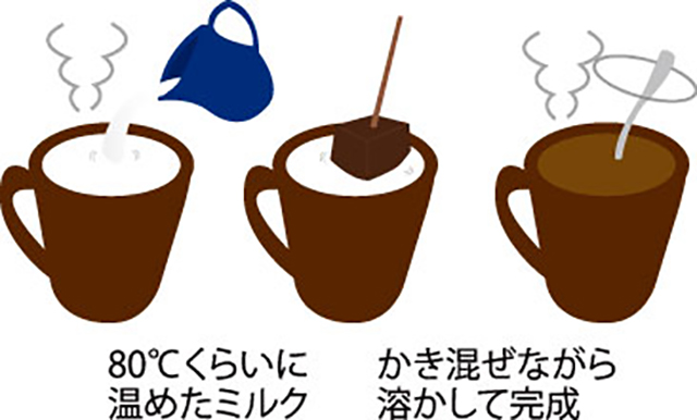 極上の「飲むチョコレート体験」を!本格濃厚なベルギーチョコとミルクの優しさが織りなす甘美な世界