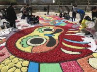 首都圏各所で楽しめる花のカーペット「東京インフィオラータ2018」
