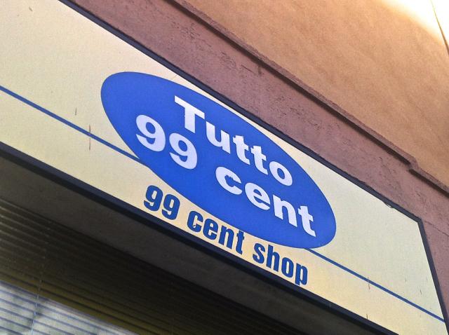 ●プチプラ 小さなお土産から、旅の小さなお助けまで、イタリアの「99セントショップ」活用法